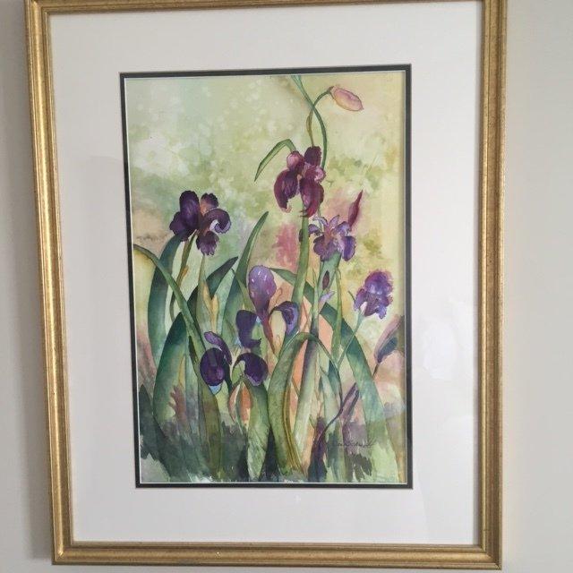 Painting by Jan Schmidt of Savannah, GA, USA