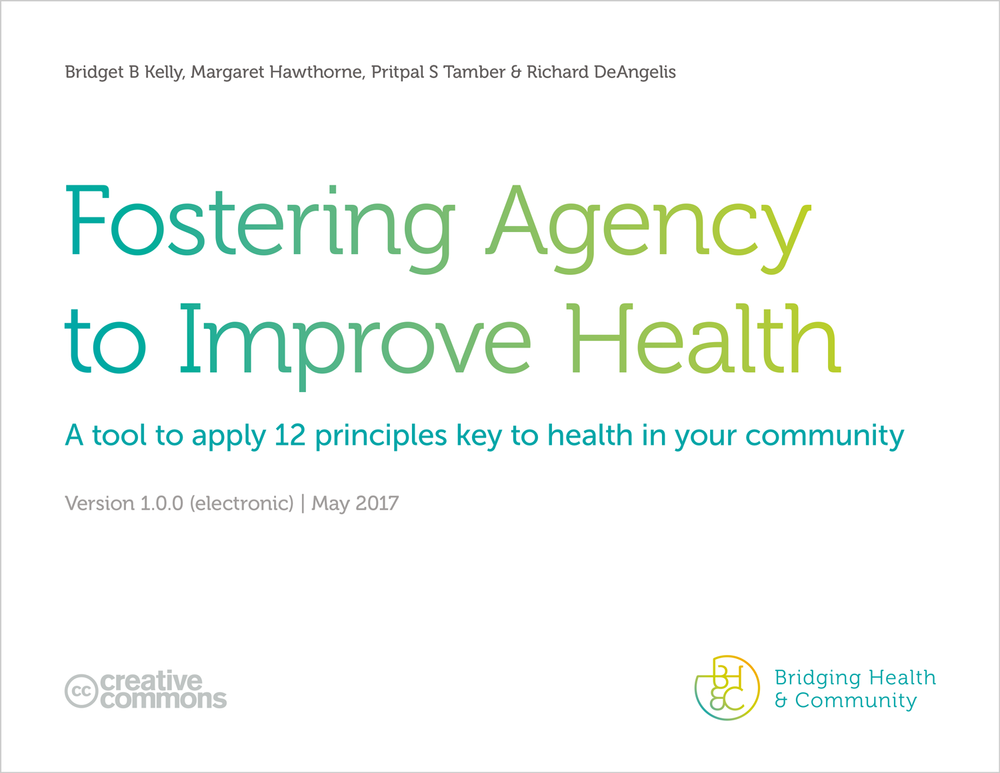 Our new tool to help apply the 12 principles to community health work