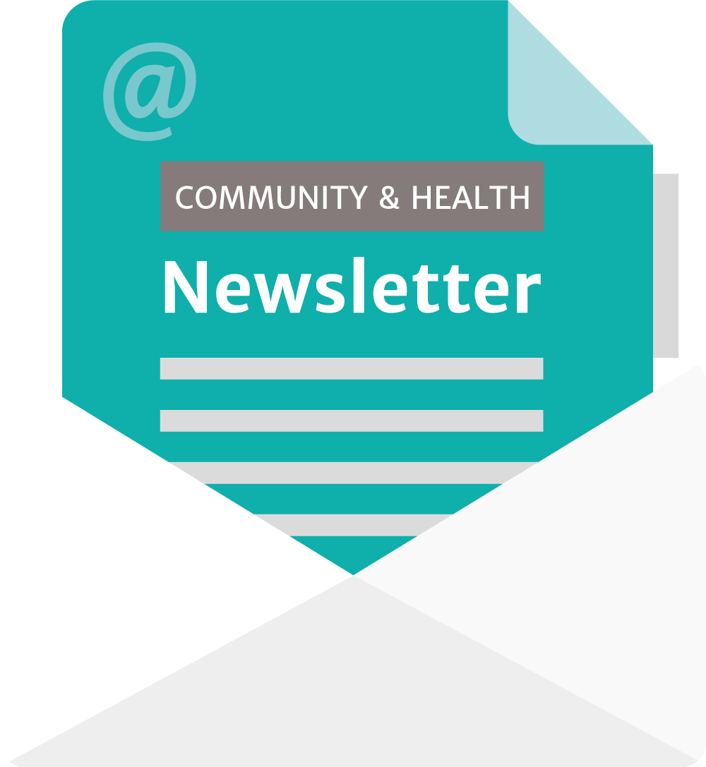 Community & Health Email Newsletter