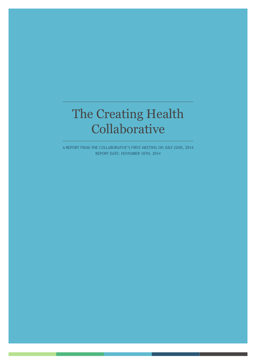 The Creating Health Collaborative