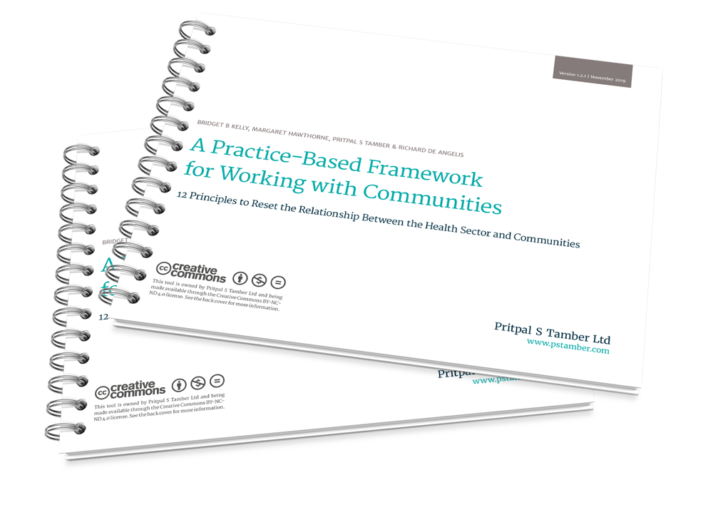 A Practice-Based Framework for Working with Communities